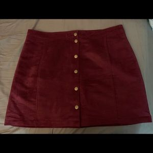 Old Navy Button Up Skirt
